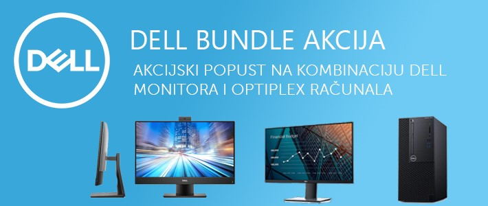DELL BUNDLE AKCIJA - monitor + desktop!
