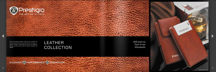 Prestigio leather collection